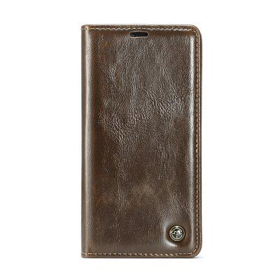 CaseMe 003 Magnetic Closure Flip Leather Wallet Phone Case Slim PC for iPhone XS