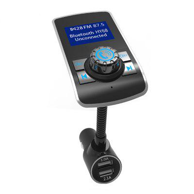 Car Bluetooth FM Transmitter Audio Mp3 Player LCD Monitor