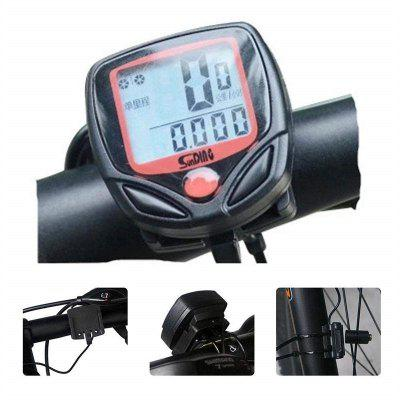 Bicycle Code Table Tailight Waterproof Bike Cycle Pantalla LCD digital
