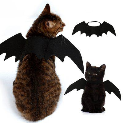 Costume Halloween Pet Bat Wings Cat Bat Costume