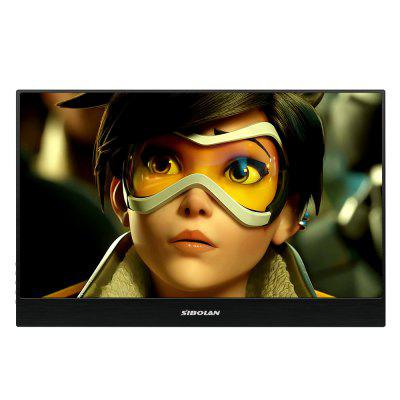 SIBOLAN S3 15.6 inch IPS LCD 1920x1080 Portable Monitor with Dual Mini HD Input
