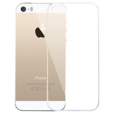 Transparent Luxury Protective Soft Back Case for iPhone 5 / 5S