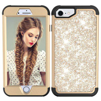 Sparkle Dual Layer PC Back a prueba de golpes TPU Shell para iPhone 6 Phone Case