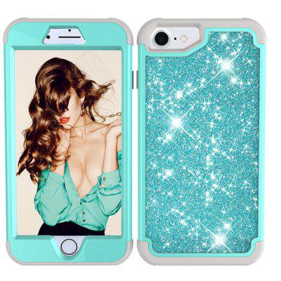 Sparkle Dual Layer Shockproof PC Back TPU Shell для iPhone 8 Phone Case