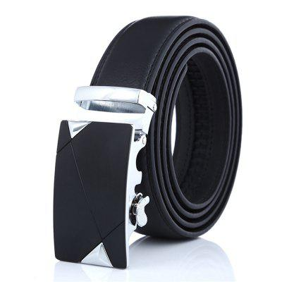 SAN VITALE Adjustable Buckle Men Belt Causal Waist Strap High Quality
