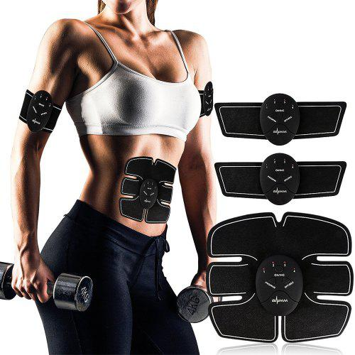 Muscle Toner and Abs Stimulator EMS Abdominal Trainer - Electronic Wireless Toni
