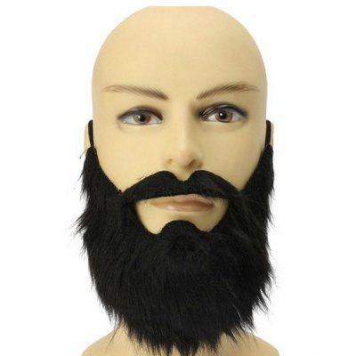 YEDUO  Halloween Whiskers Props Black beard Party decoration