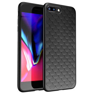 Luxury Scale Weaving for iPhone 7 Plus Cases Cover Super Soft Phone Case