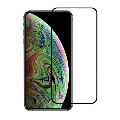 Minismile 3D 9H Full Coverage Gehard glazen displayfolie voor iPhone XS Max
