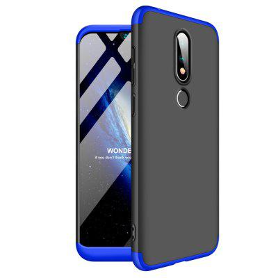 Shockproof Ultra-thin Full Body Cover Solid Hard Case for Nokia X6