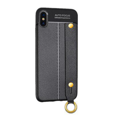 Fashion Wrist Band Bracket Back Cover Case for iPhone XS Max