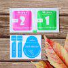 2.5D 9H Tempered Glass Screen Protector Film for OUKITEL WP2 - TRANSPARENT
