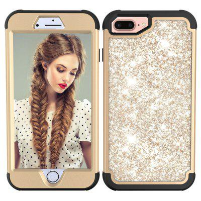 Sparkle Dual Layer Shockproof PC Back TPU Shell для iPhone 7 Plus Phone Case