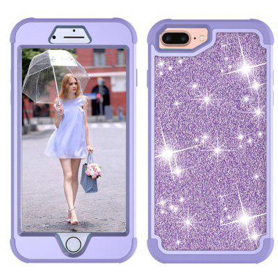 Sparkle Dual Layer Shockproof PC Back TPU Shell for Samsung S8 Phone Case