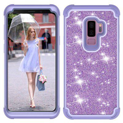 Sparkle Dual Layer Shockproof PC Back TPU Shell voor Samsung S9 plus telefoonhoes