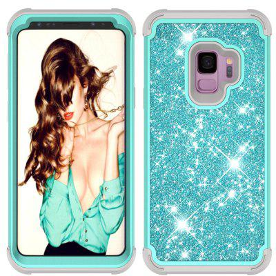 Sparkle Dual Layer Shockproof PC Back TPU Shell для Samsung S9 Phone Case