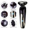 SURKER Electric Shaver  for Men LED Display  Rotary 4 in 1 Waterproof Wet Dry - SILVER