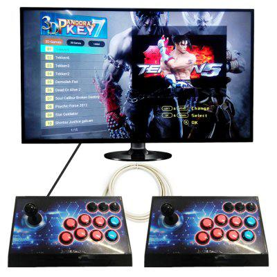 2 Player Box 3D Arcade Game Machine  Built In 2177 Games only $179.99 with coupon