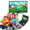 Handheld Retro Arcade Video Game Console Built-In 3000 Games with 2 Controllers - BLACK