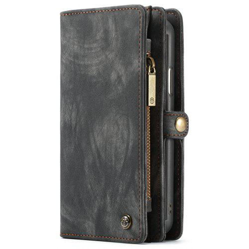 pretty nice ddba0 06f73 CaseMe Wallet Leather Case with Detachable Flip Magnetic Cove for iPhone Xs  Max
