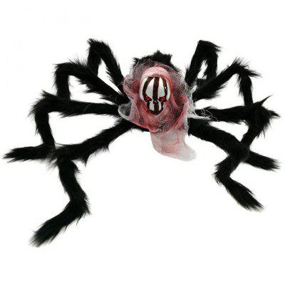 Halloween Spider Decoration Black Simulation Spiders with