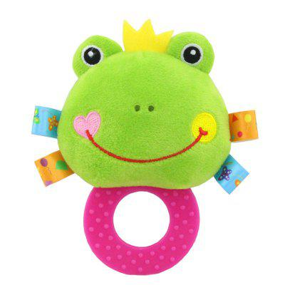 Simulation Frog Multi-function Lathe Pendant To Comfort Children'S Plush Toys