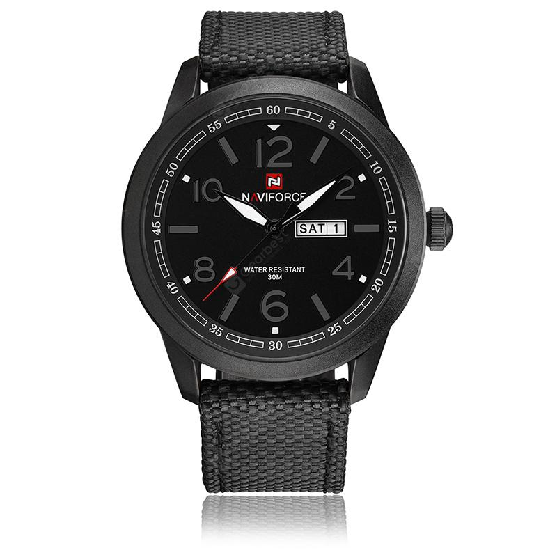 NAVIFORC Fashion Men's Quartz Watch