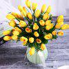 Sweet A Bouquet of Room Decoration Artificial Magnolia Flower - MUSTARD