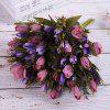 Pastoral Style A Bouquet of Room Decoration Artificial Retro Tulip Flower - PURPLE IRIS