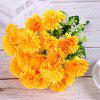 Spherical Chrysanthemum Home Decoration Branch of Artificial Flowers - SUN YELLOW