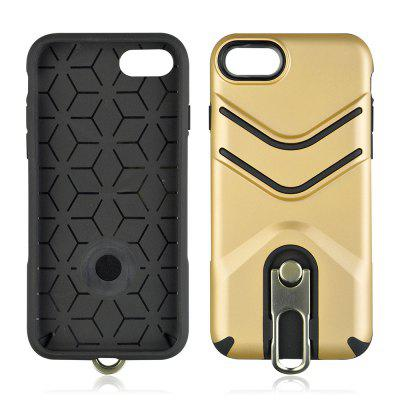 Dual Layer TPU PC Cover Ring Holder Case for iPhone 7/8 4.7in