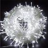 10m/72pcs 220V LED Light Strap Lamp Waterproof For Christmas Tree  Decoration - WHITE