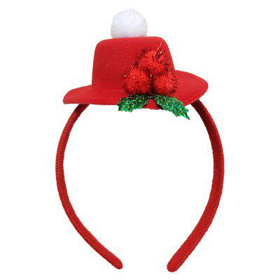 Christmas Plush Hat Antlers Fancy Dress Costume Accessory