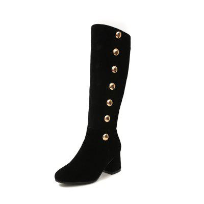 Women'S Coarse and Rivet Boots