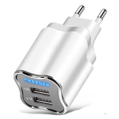 Dual USB Port Wall EU/US Plug Wall Charger for iPhone XS Max / XS / XR