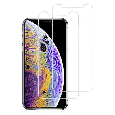 2PCS 0.26mm 9H Gehard Glas Screen Protector voor iPhone XS