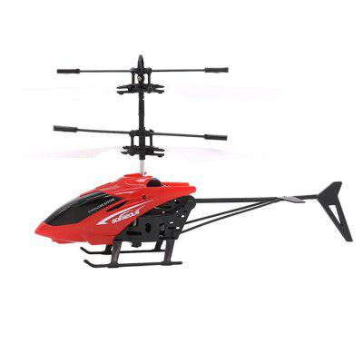 Gearbest Induction Flying Aircraft Electric Micro Helicopters Toys Gift for Kids - RED