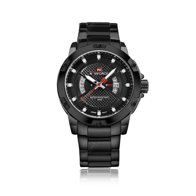 NAVIFORCE Fashion Men'S Sports Calendar Quartz Watch