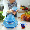 Stretch Silicone Suction Lids Kitchen Pan Spill Lid Stopper Cover reusable 6 pcs - LIGHT BLUE