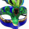 Halloween  Mask for beauty  Women Party Costume Accessory fashion Ball Mask - DEEP BLUE