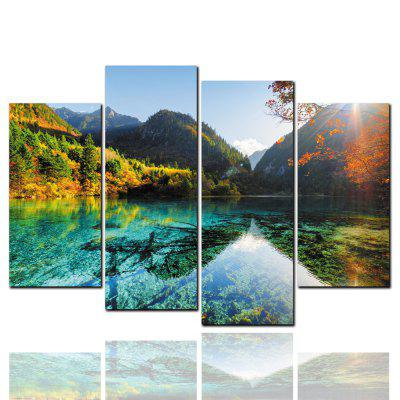 Pcs HD Inkjet Paints Mountain Lake Scenery Decorative Painting