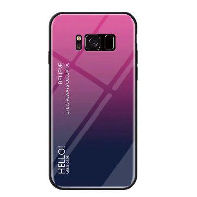 Gradient Tempered Glass Case for Samsung Galaxy S8 Plus
