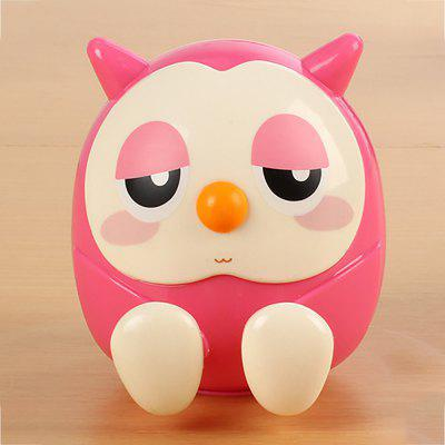 Lovely Multicolored Owl Piggy Bank Bring Lazy Phone Holder