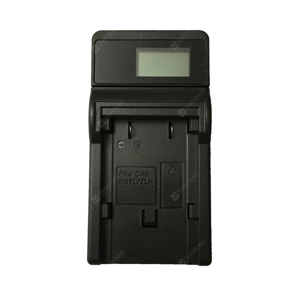 Ismartdigi 2L LCD USB Camera Battery Charger for Canon NB2L / NB2LH / EOS  350D /