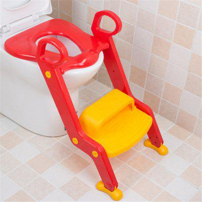 Children Potty Baby Seat With Adjustable Ladder Infant Toilet Training Folding