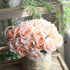 Wedding Bridal Bouquet Artificial Flower Rose Home Decorations - MULTI-B