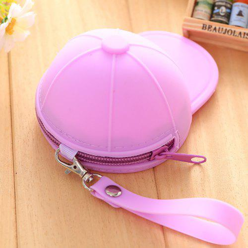Students' Supply Candy Colored Baseball Cap Loose Change Key Case