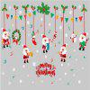 Christmas Store Window Glass Flakes Decorative Wall Stickers Door Festival - ÇOK-A