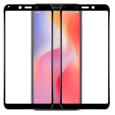 Mrnorthjoe 2PCS Full Screen Coverage Film in vetro temperato per Xiaomi Redmi 6