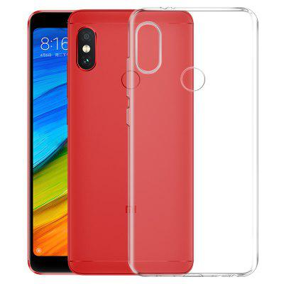 Mrnorthjoe Ultra-Thin TPU Back Cover Transparent Case for Xiaomi Redmi Note 5